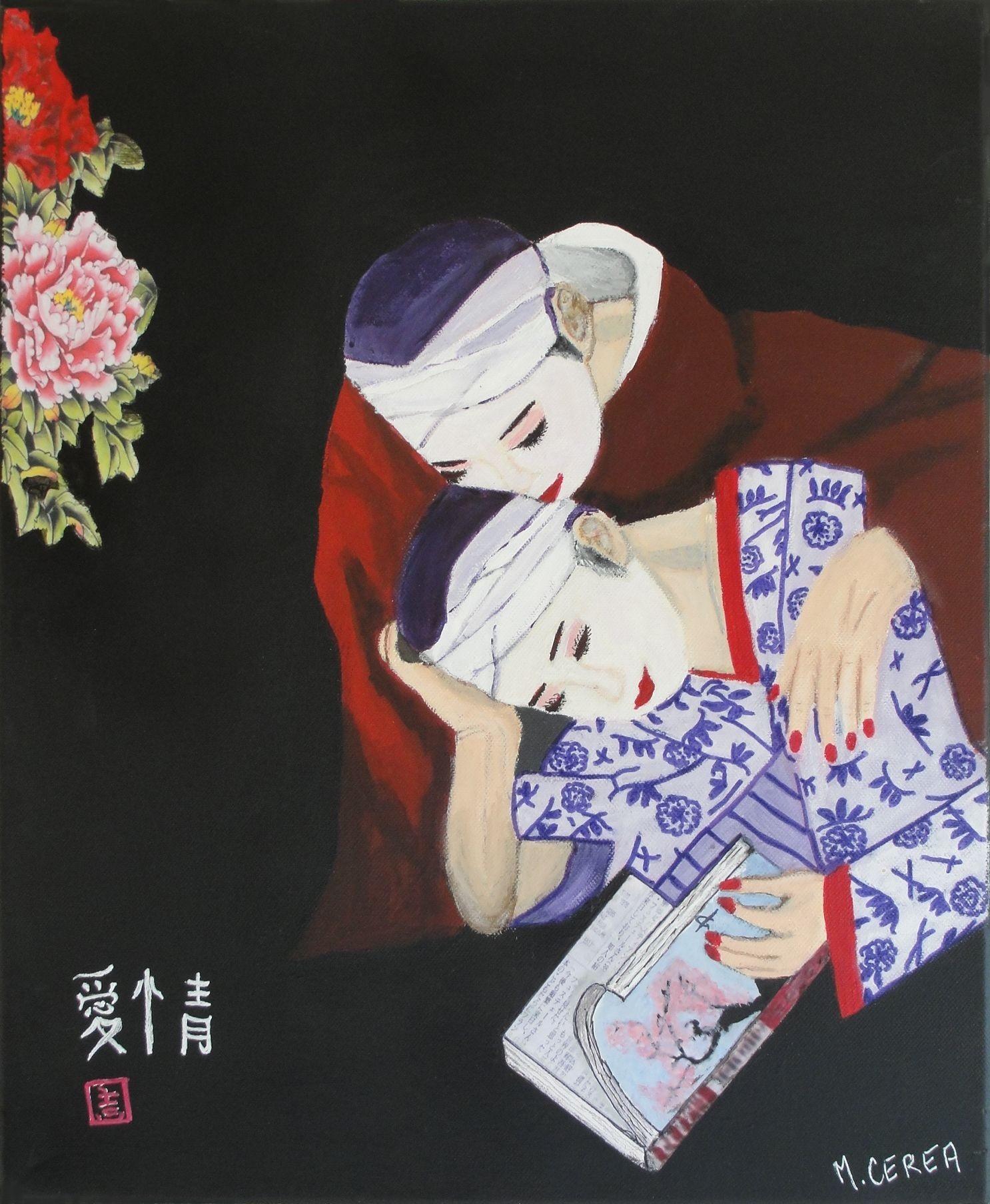 Portrait de femmes asiatiques