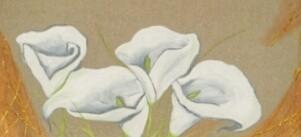 Peinture d'Arums
