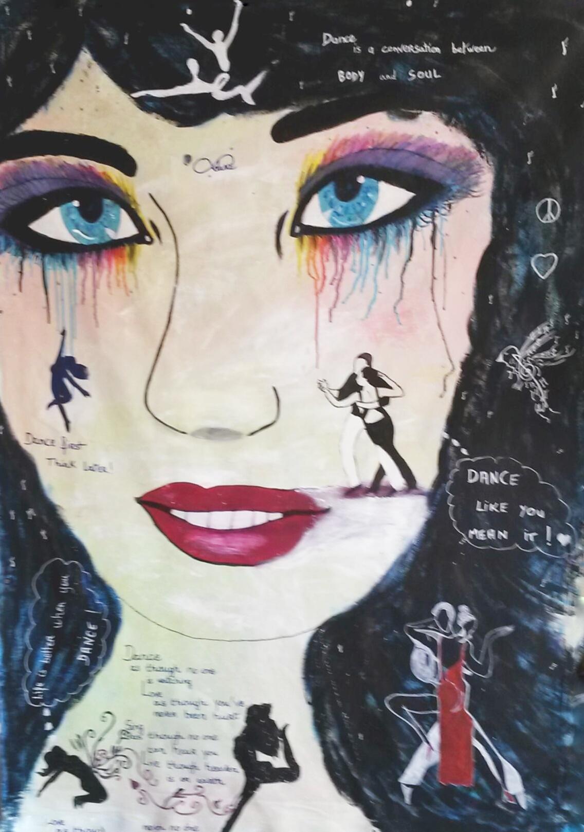 Portrait d'âme de femme par Mireille Cerea