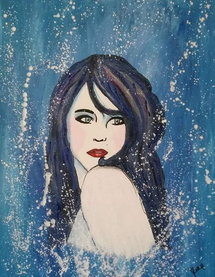 Portrait de femme des mers