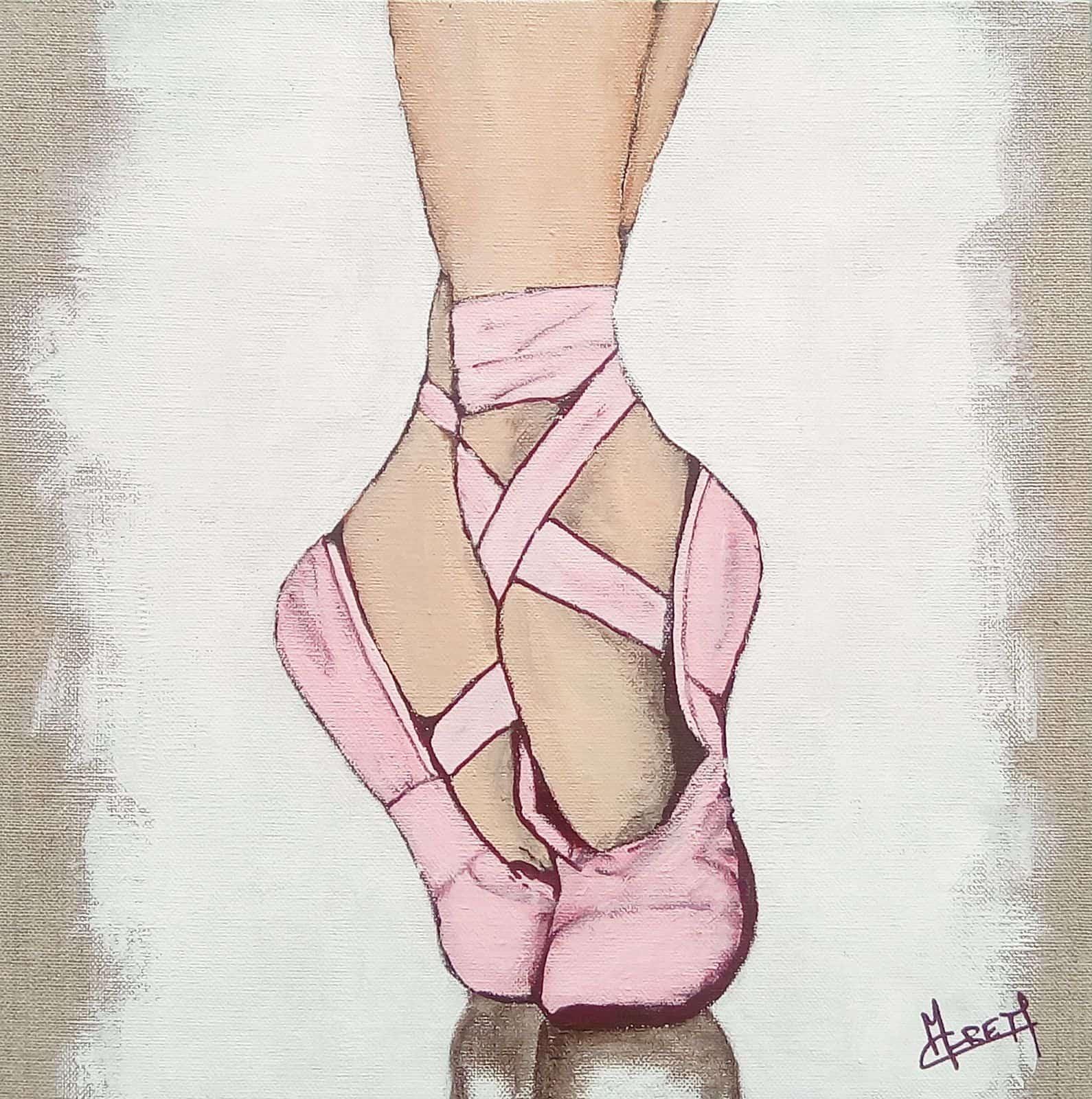 pas de danse chausson de danse ballet