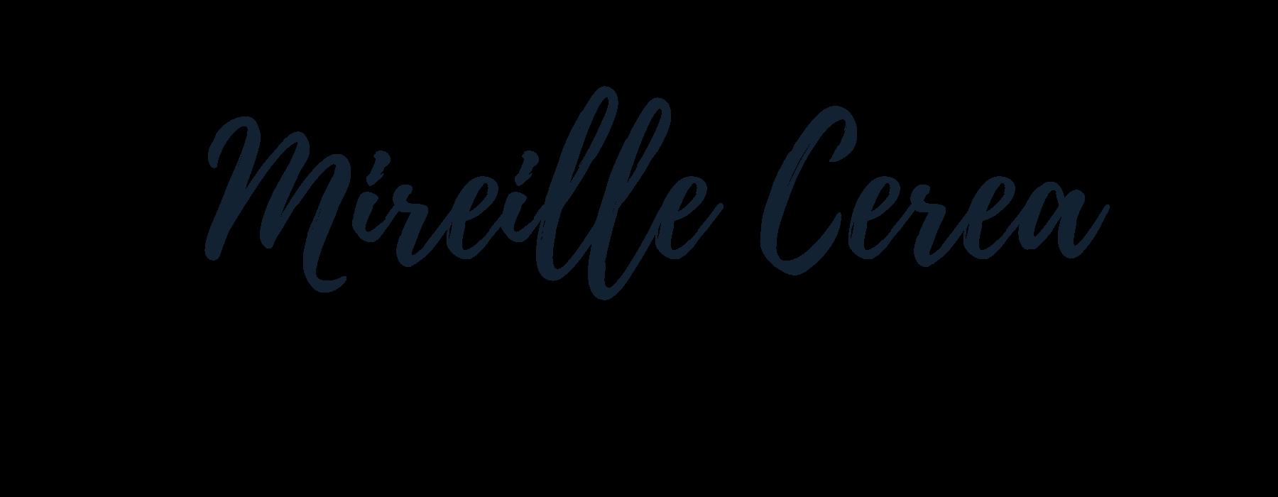 Nom de l'artiste Mireille Cerea