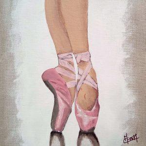 pas de danse chausson de danse