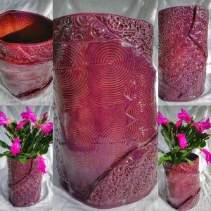 Vase Pourpre